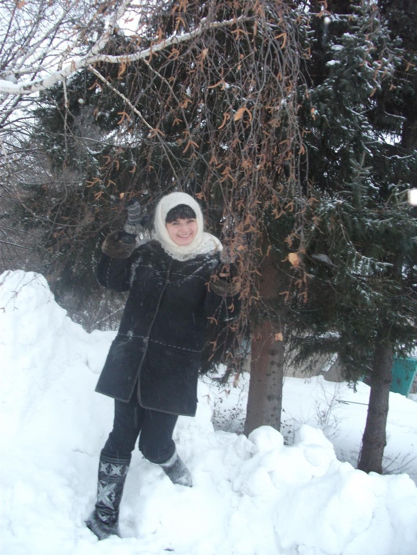Я ж деревенская))). Зимний образ
