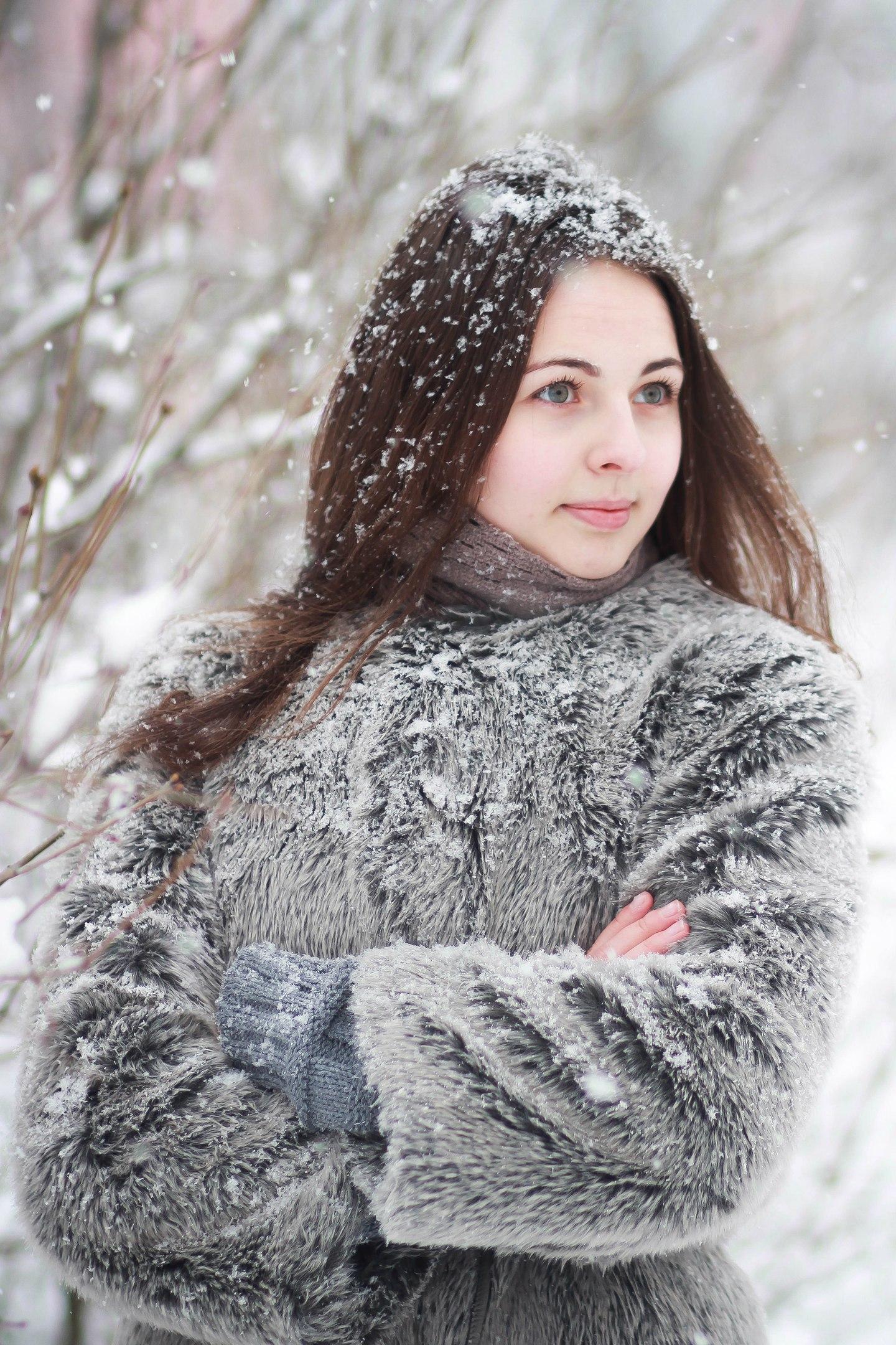 зимний день!. Зимний образ