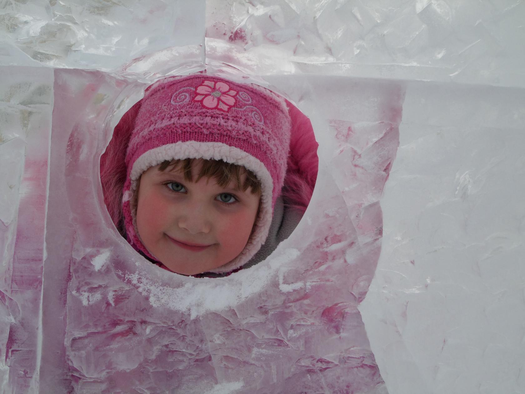 В ледяном царстве. Зимний образ