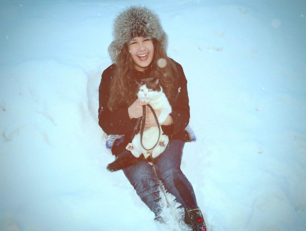 Счастье - это просто!. Зимний образ