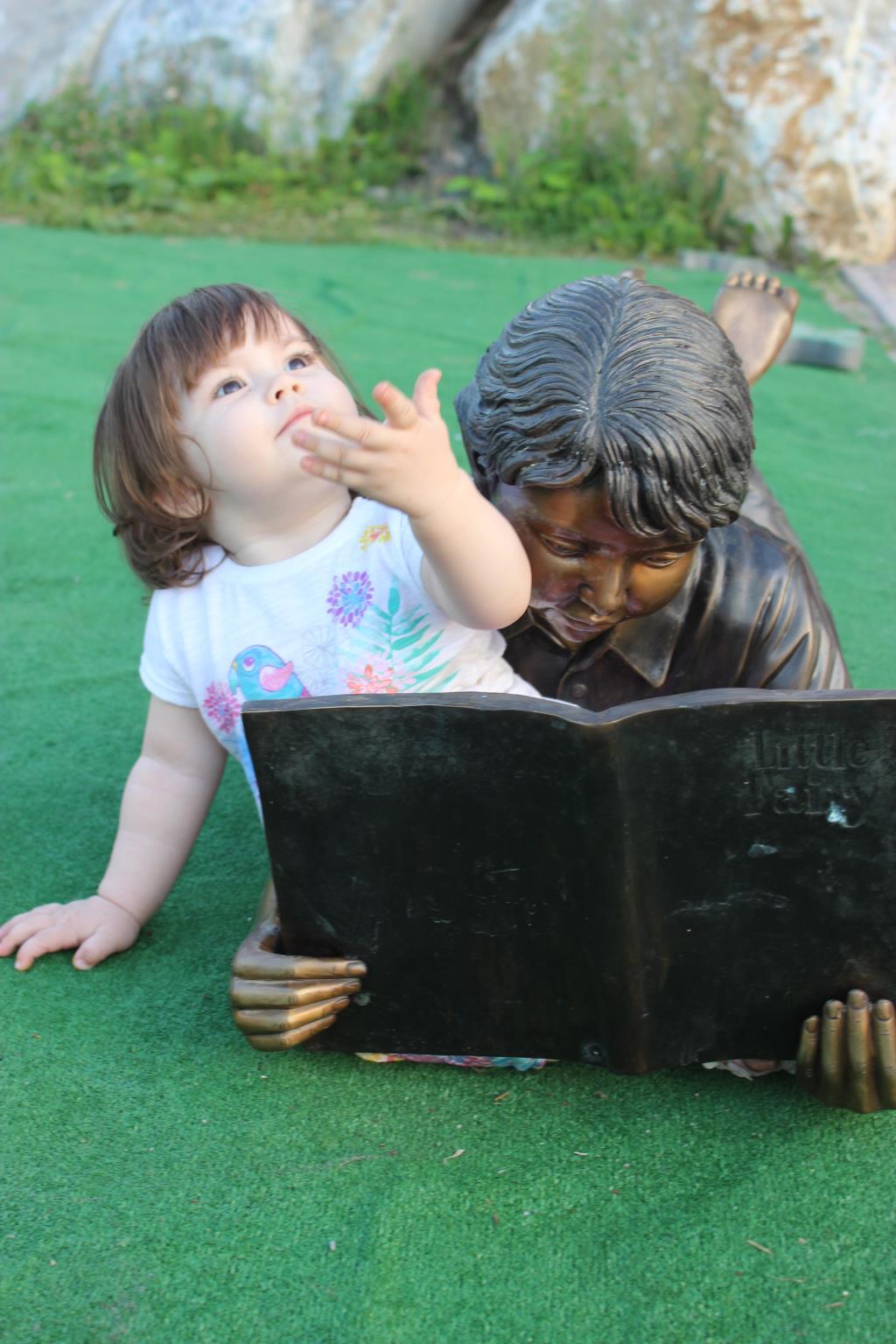 Так хорошо, что хочется читать стихи. В парке.. Открываем мир!