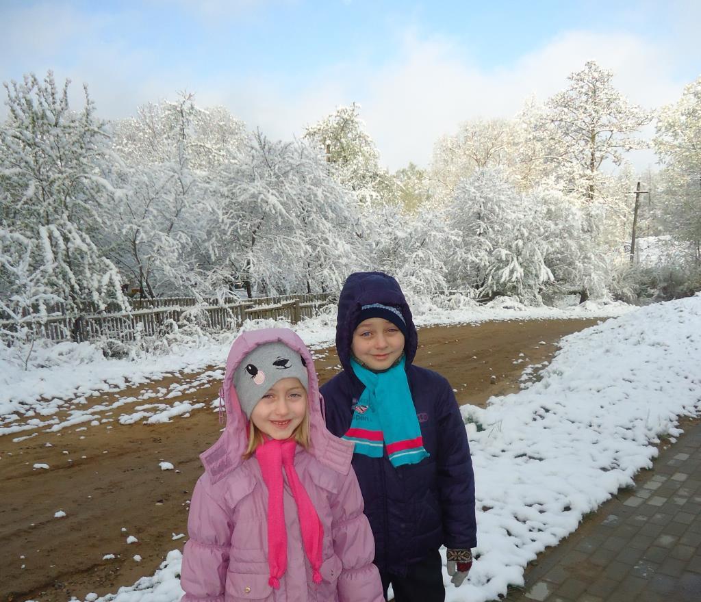 ''Зимний образ''  белорусской весной! 11 МАЯ 2017. Зимний образ