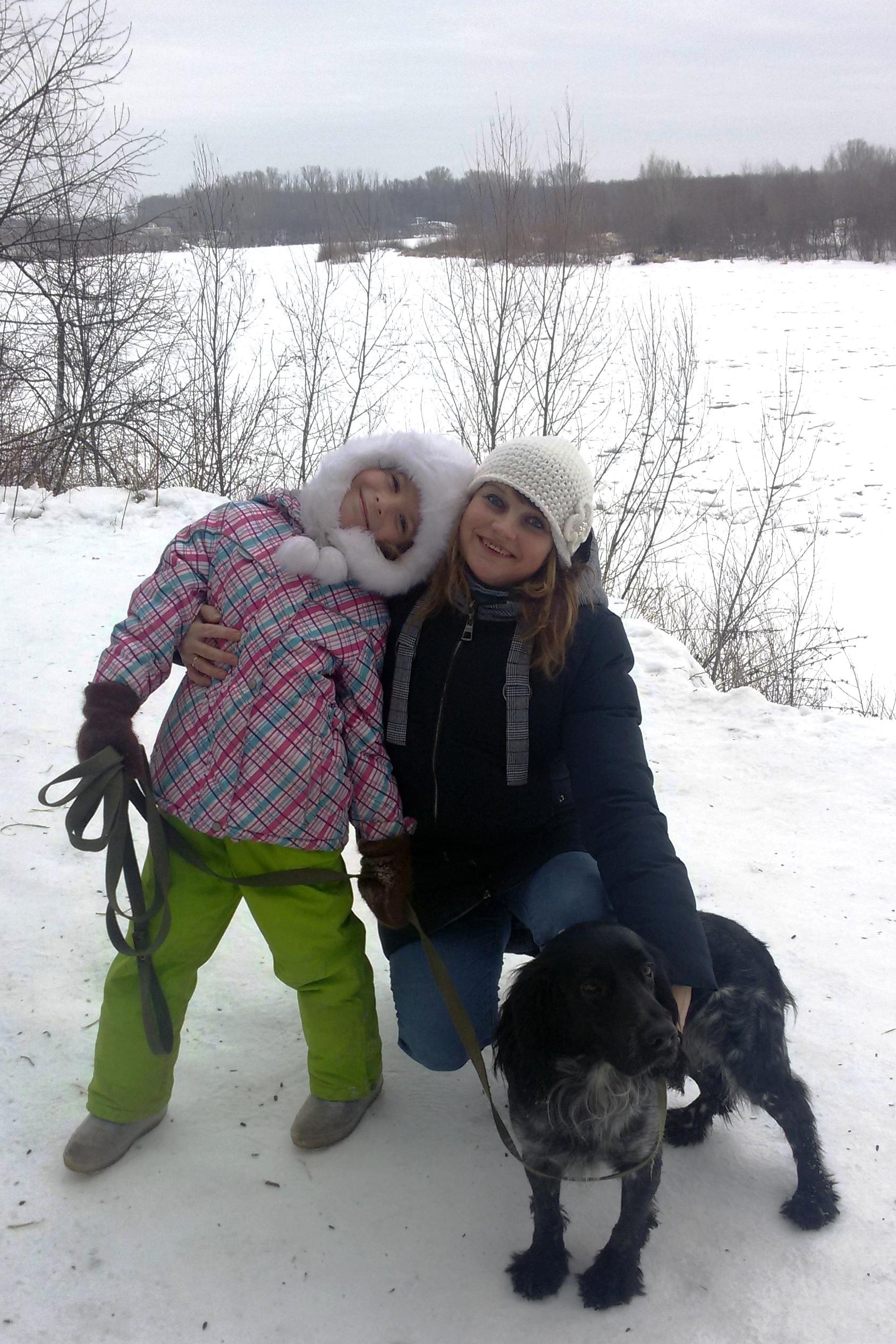 Зимняя прогулка. Зимний образ
