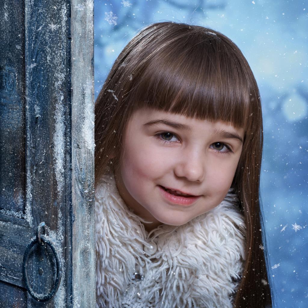 Мария. Зимний образ