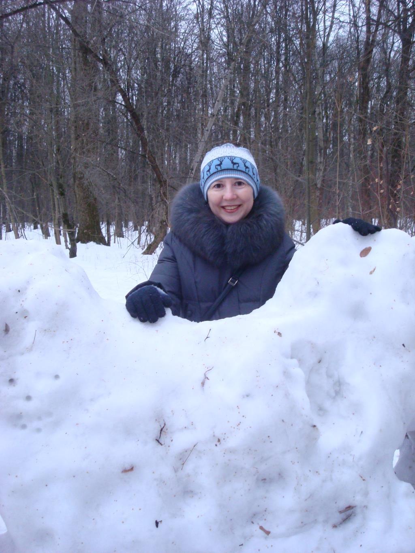 Хорошо, что снежок пошел, очень хорошо!. Зимний образ