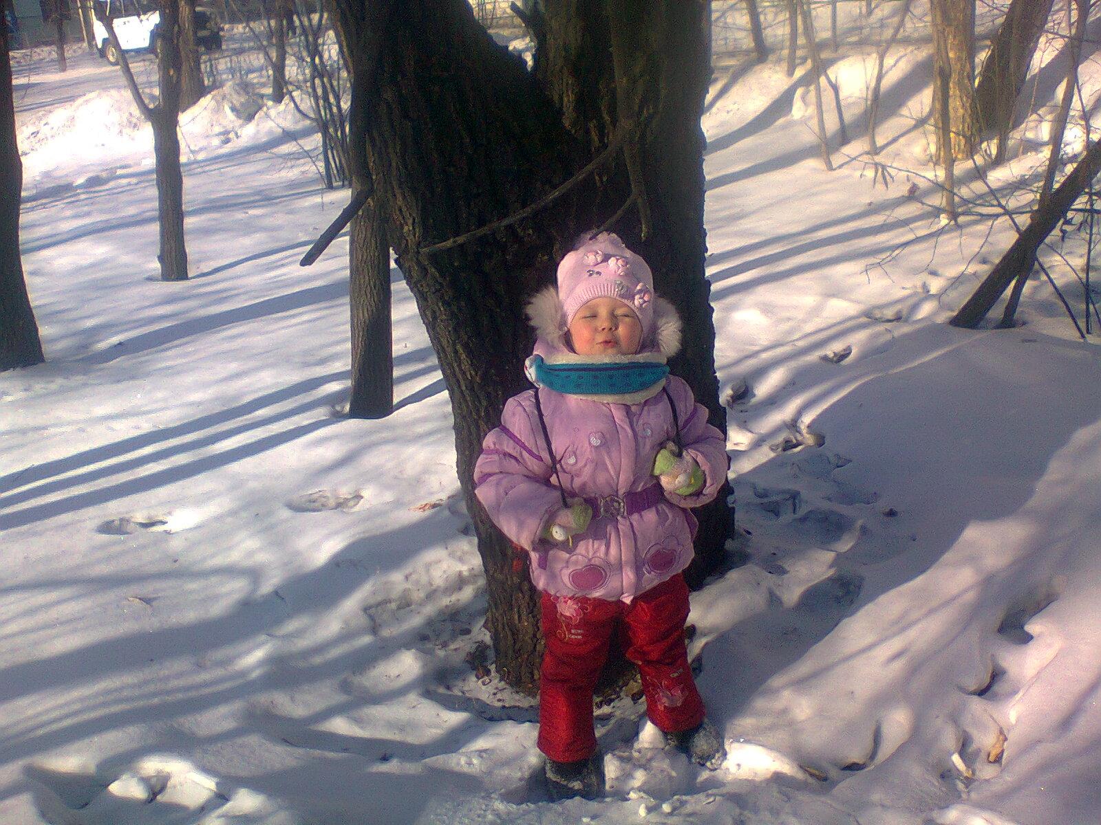Мороз и солнце, день чудесный !!!. Зимний образ