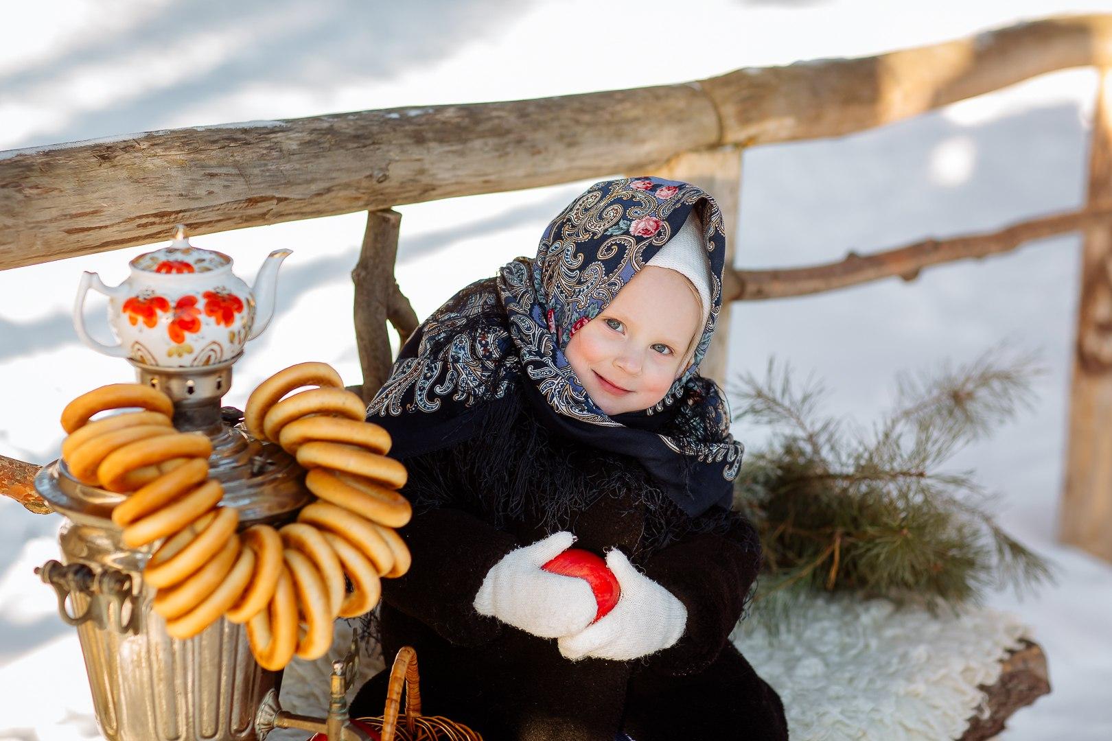 Русская красавица;). Зимний образ