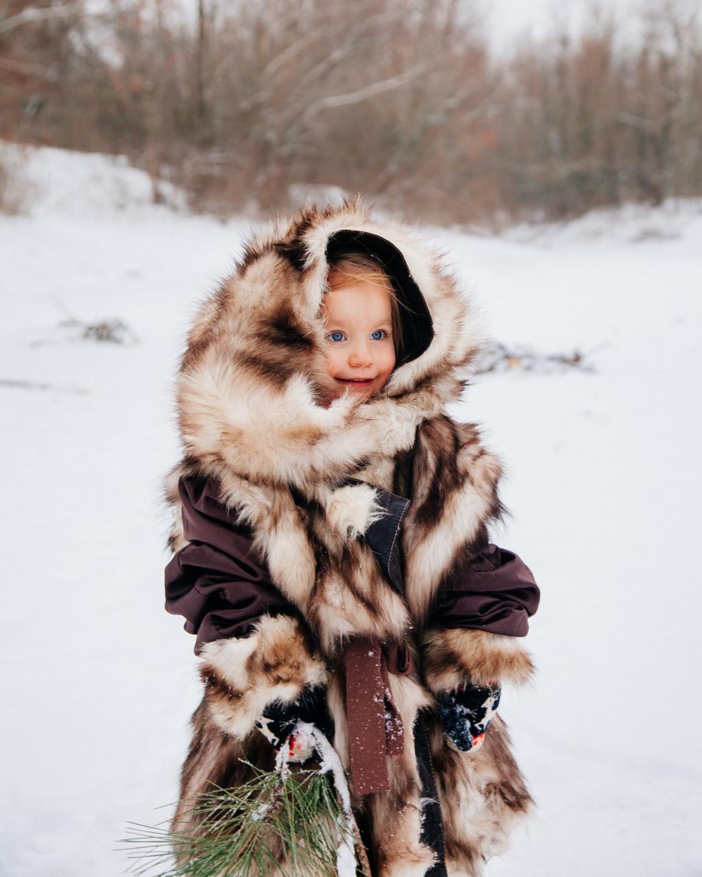 Якутяночка . Зимний образ