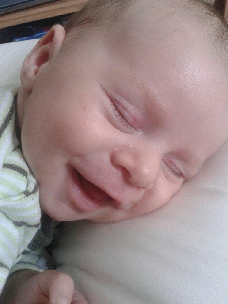 Сном прекрасным наслаждаюсь - улыбаюсь.... Спокойной ночи! Кто спит слаще всего?