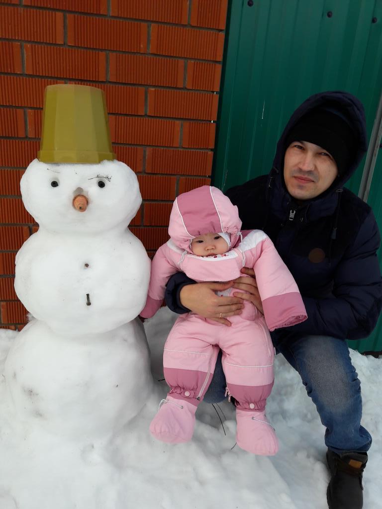 Снеговик. Зимний образ