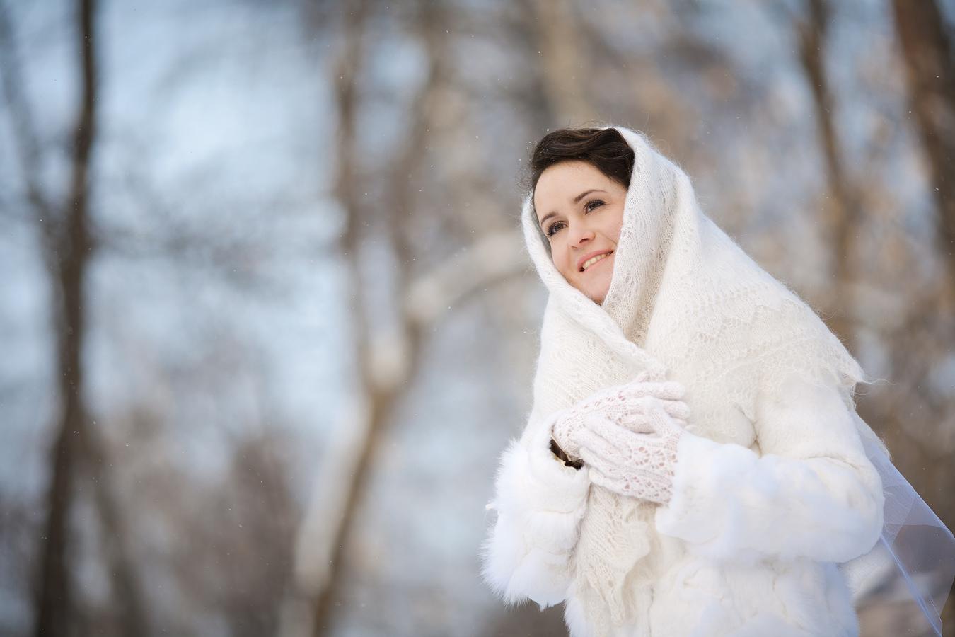 ?????? ???????. Зимний образ