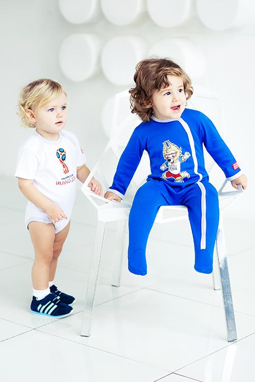 Коллекция детской одежды к Чемпионату мира по футболу