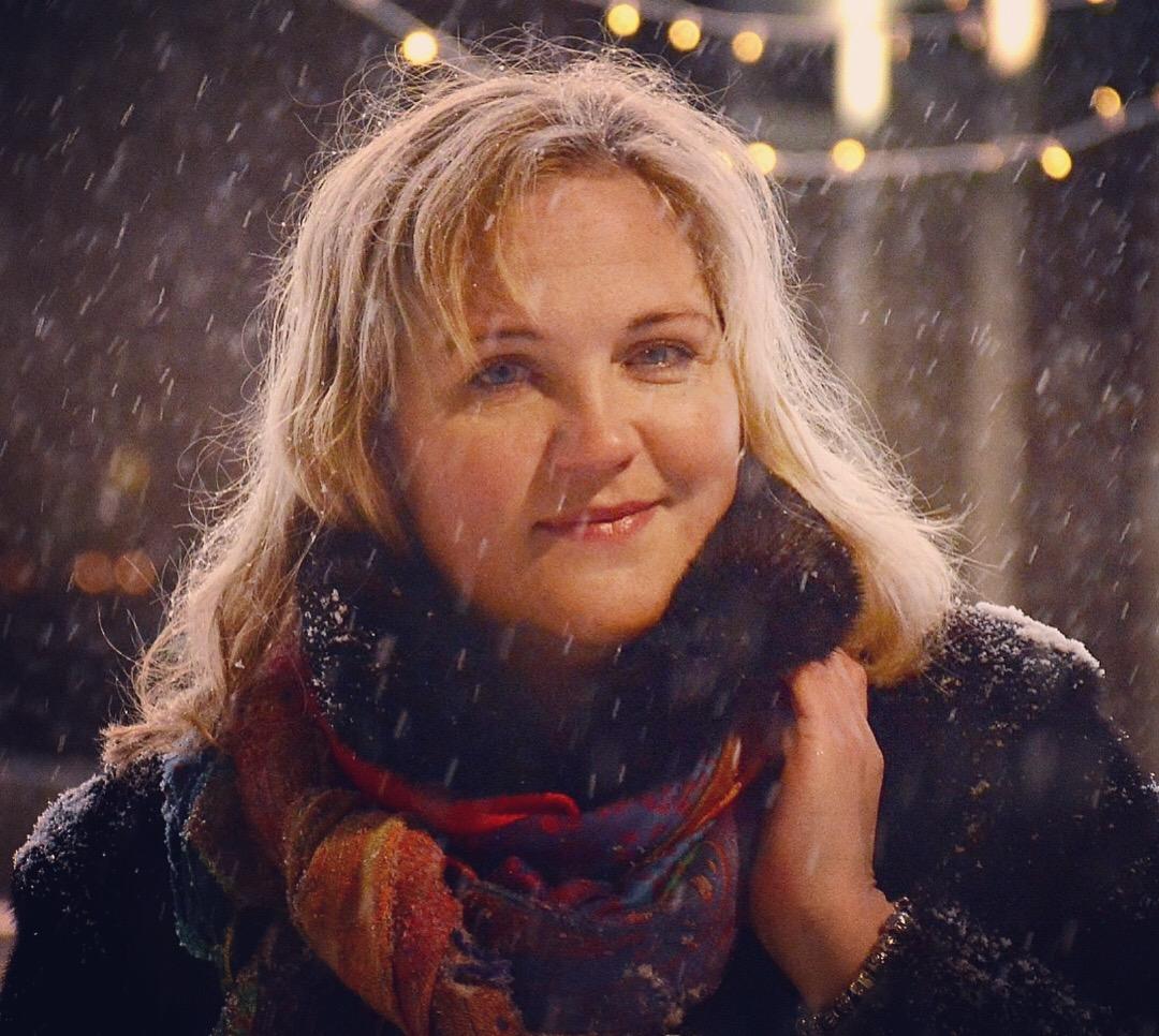 Снежная декабрьская ночь.... Зимний образ