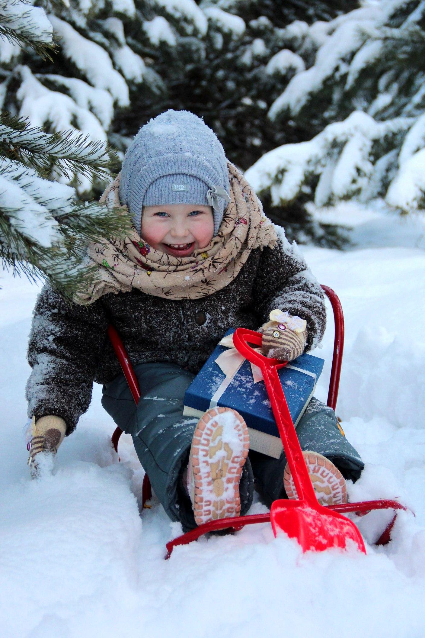 Счастье!!!. Зимний образ