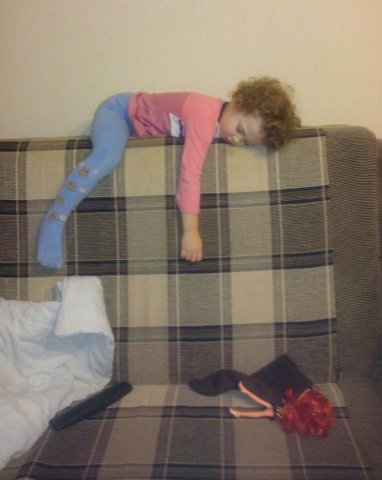 Спящая красавица. Спокойной ночи! Кто спит слаще всего?
