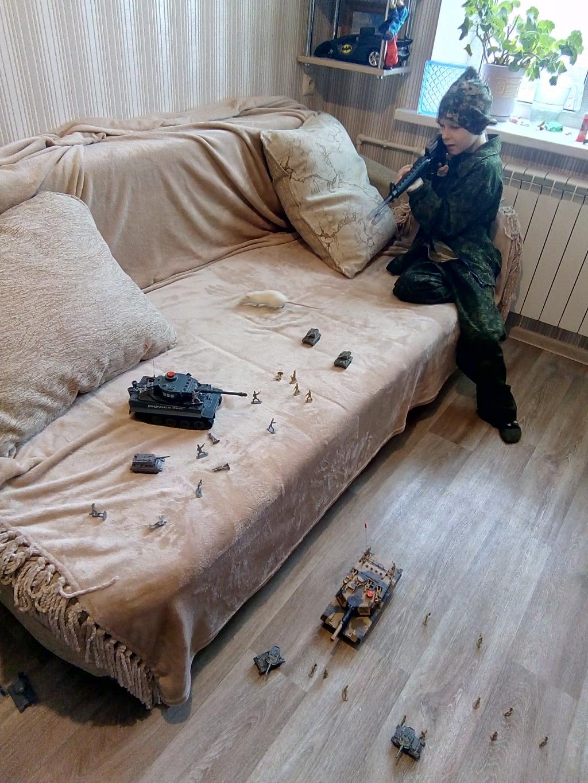 Женя военный. Время играть!