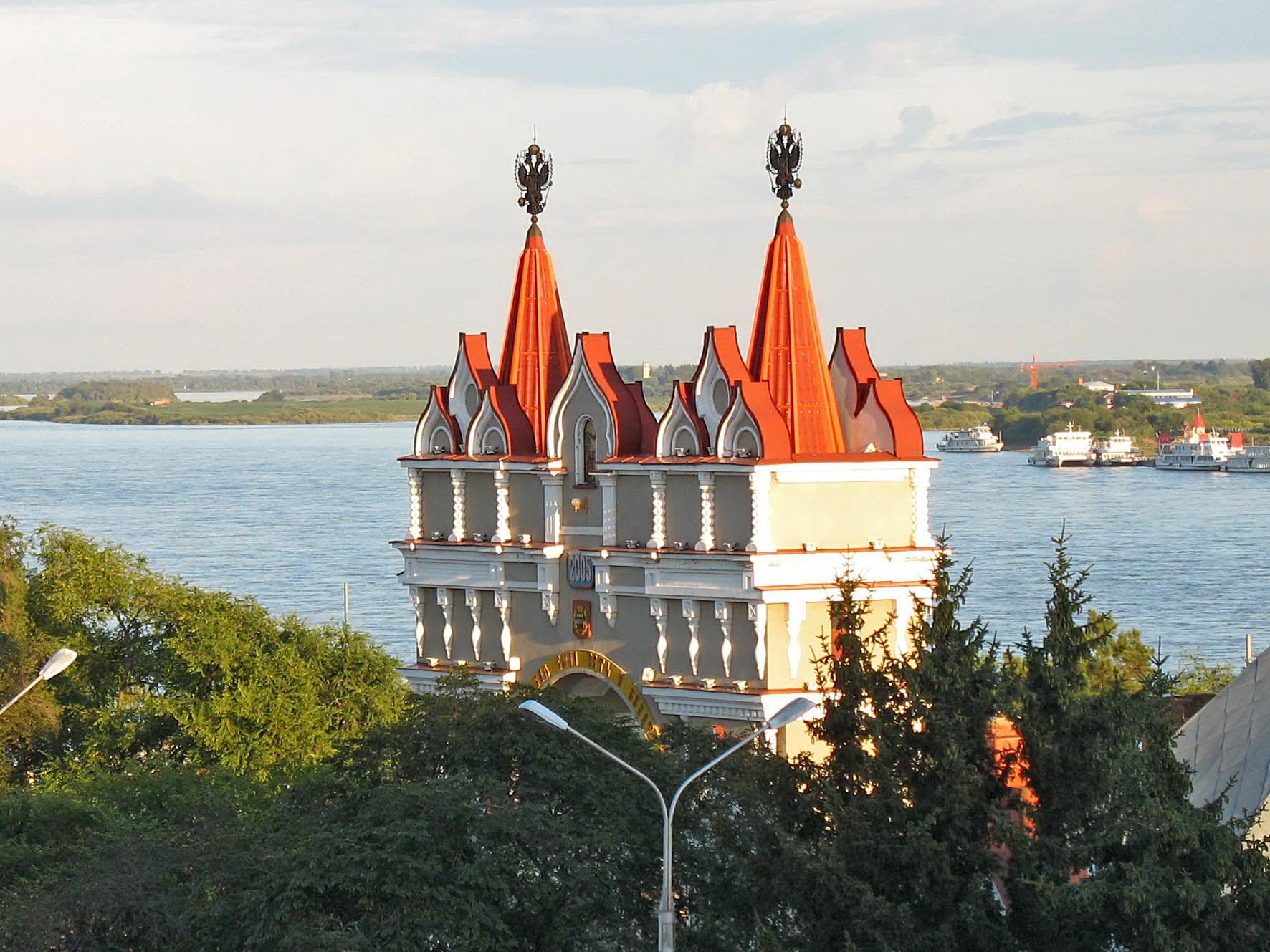 Ворота России. Блиц: арки и ворота
