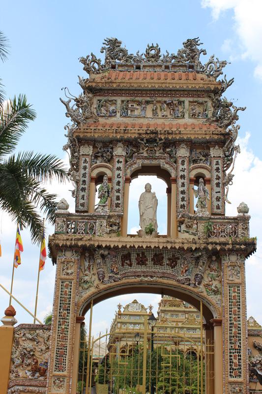 Вьетнам. В окрестностях Хошимина (Сайгона). Блиц: арки и ворота