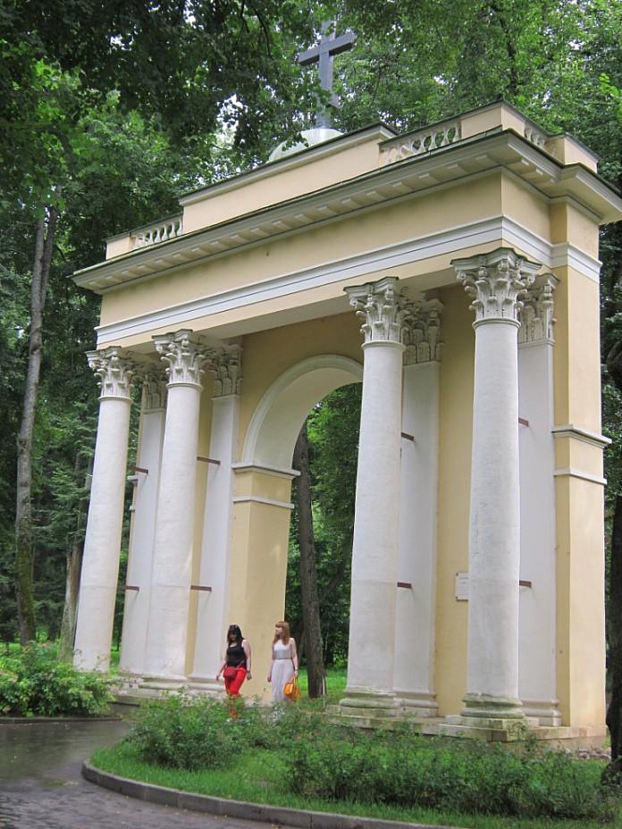 Архангельское. Святые ворота. Блиц: арки и ворота