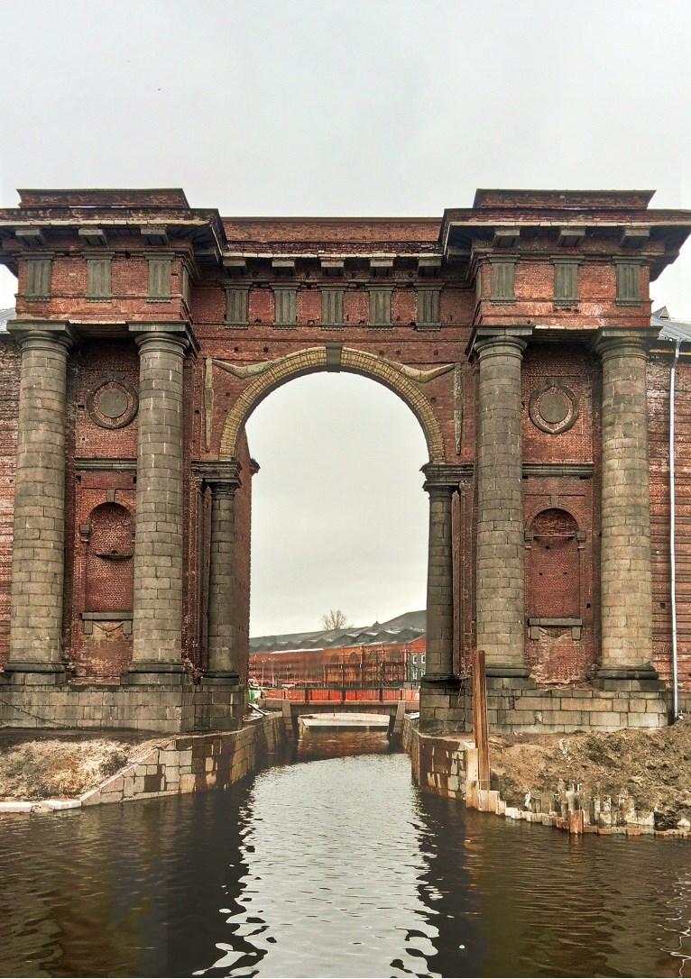 Остров Новая Голландия. Санкт-Петербург. Блиц: арки и ворота