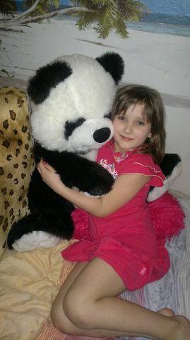 Любимая панда. Время играть!