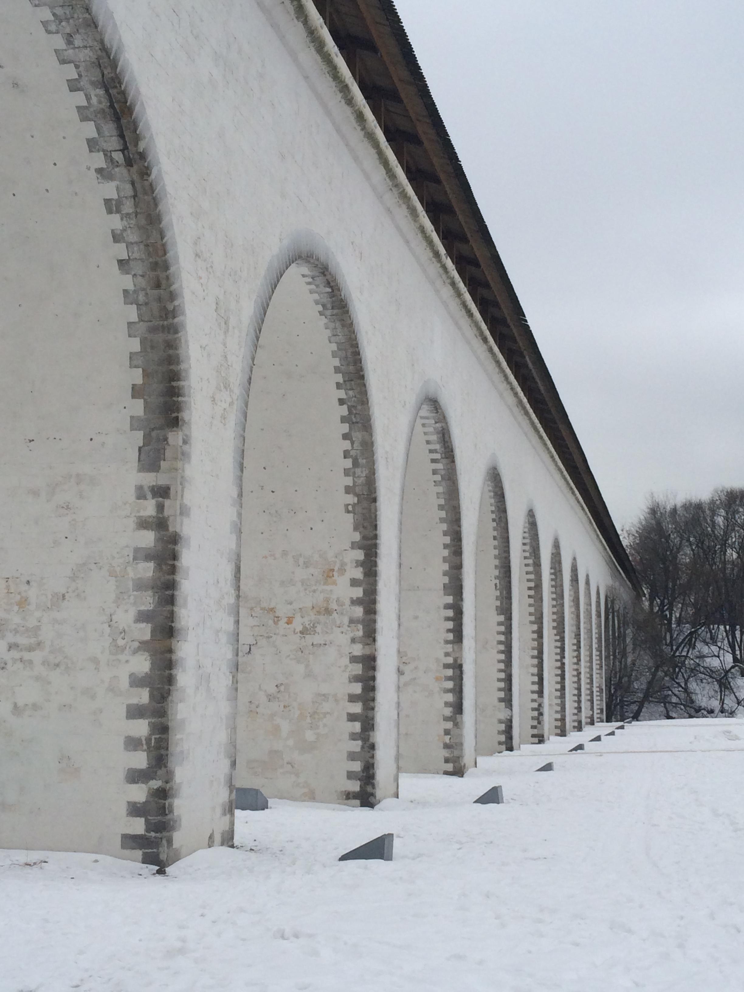 Ростокинский акведук . Блиц: арки и ворота