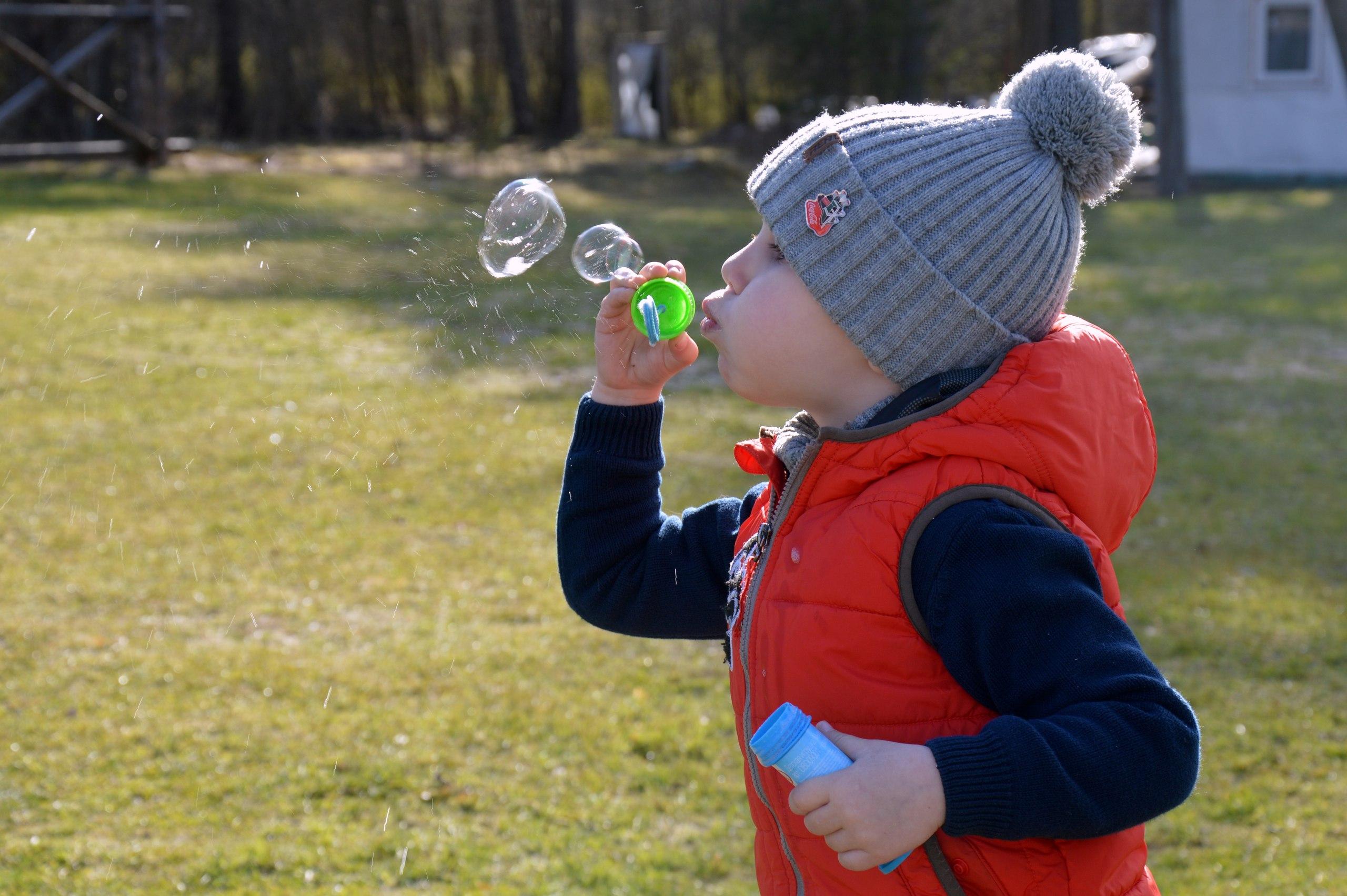 Веселые пузырики. Время играть!