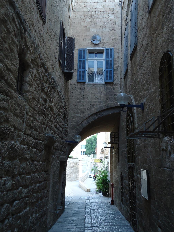 Арка в Старом  Яффо, Израиль. Блиц: арки и ворота