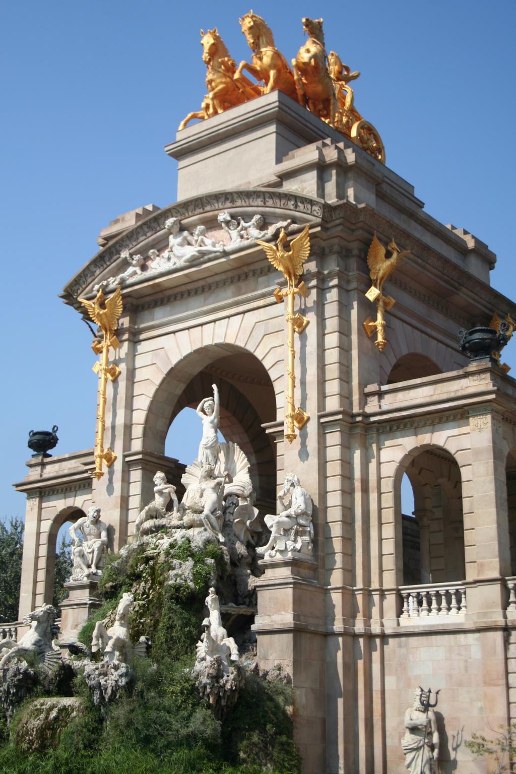 Барселона. Блиц: арки и ворота