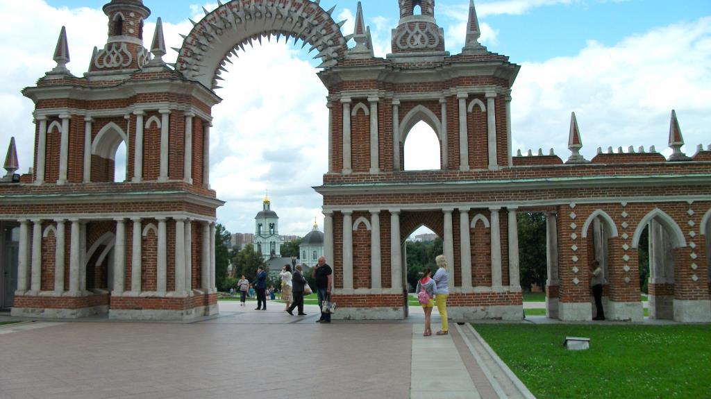 царицыно. Блиц: арки и ворота