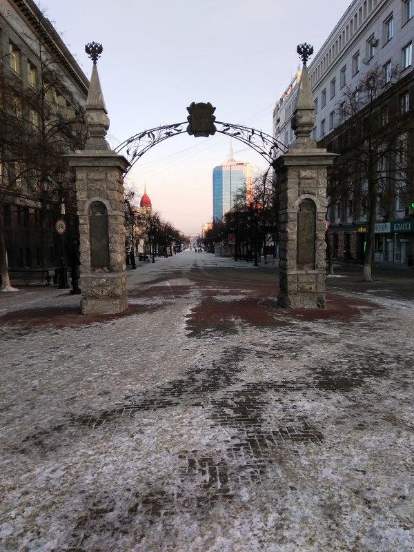 Городские ворота. г.Челябинск. Блиц: арки и ворота
