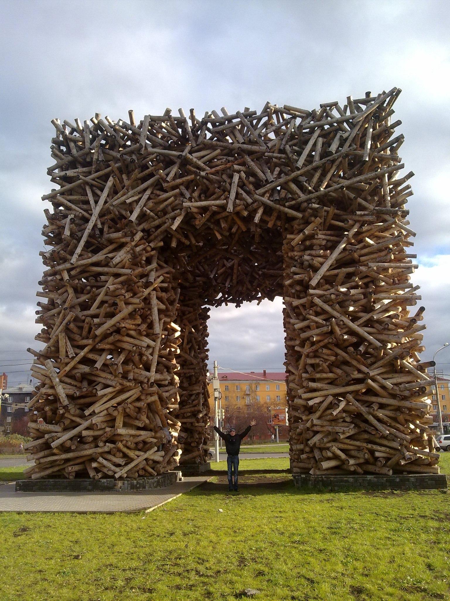 Пермский ворота. Блиц: арки и ворота