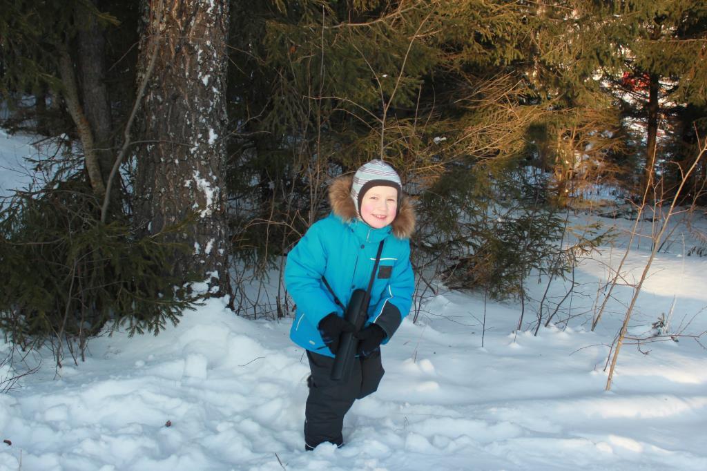 Лесная прогулка!. Зимний образ