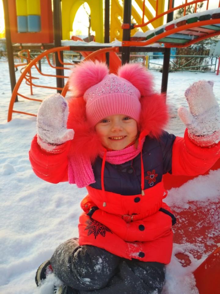 Наконец-то много снега!!! . Зимний образ