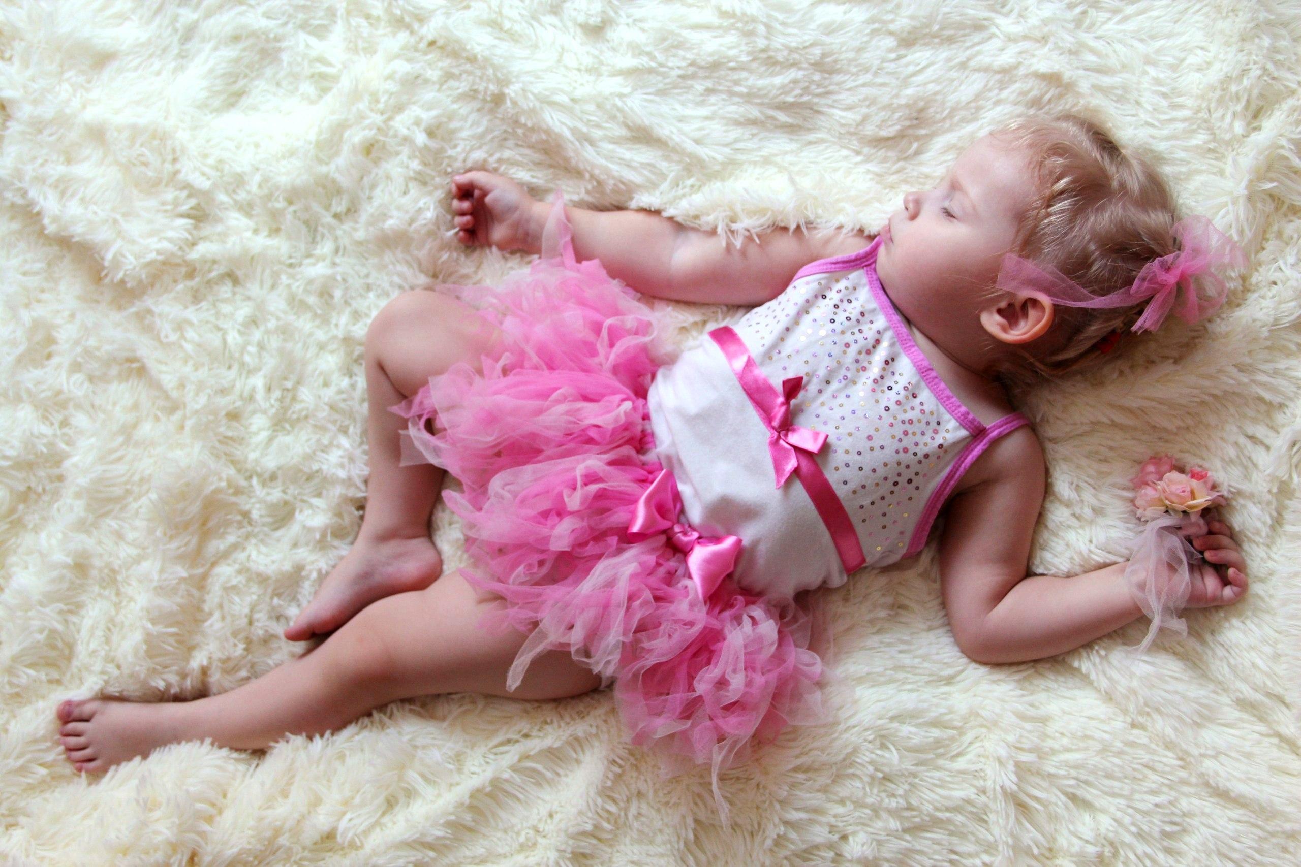 Во сне балерина. Спокойной ночи! Кто спит слаще всего?