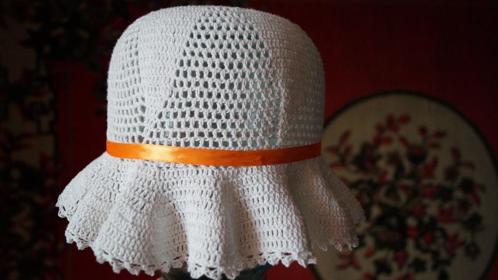 шляпка . Шапки, шляпки, панамки и др.  вязаные головные уборы