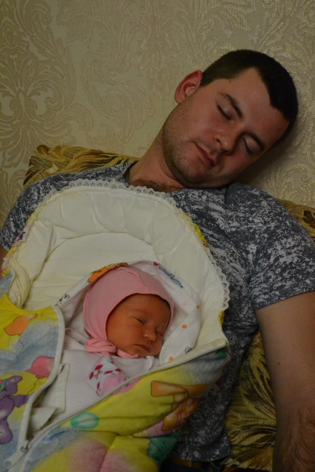 Вместе слаще спится. Вместе с папой