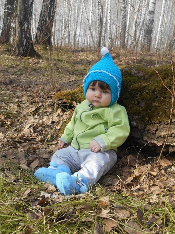 Василинкина первая весна!!!. Ждем лето!