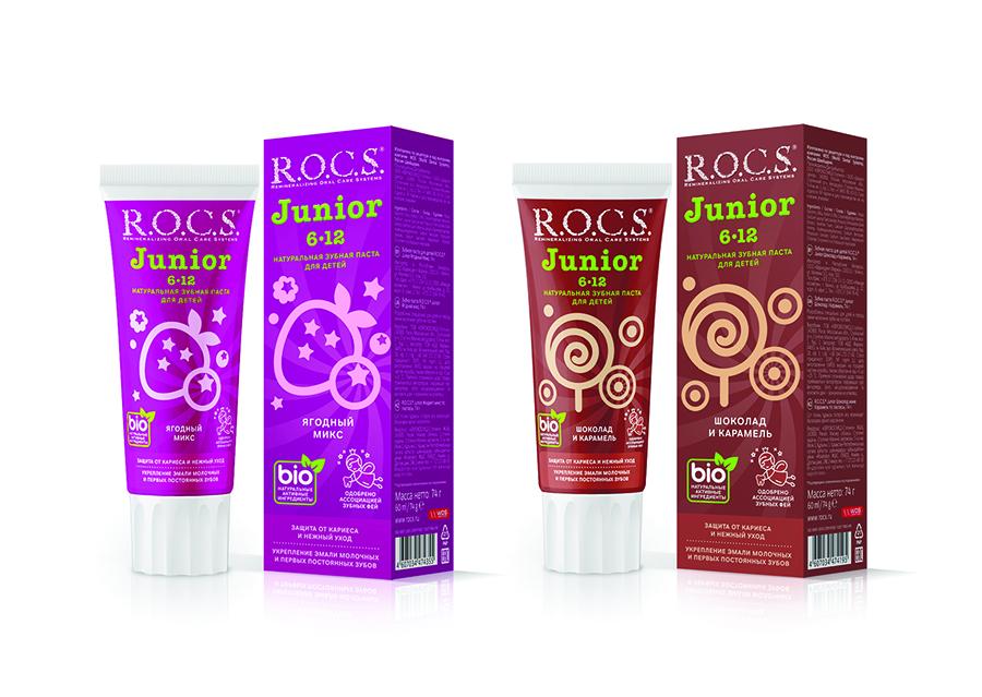 Новая зубная паста для детей и подростков R.O.C.S.