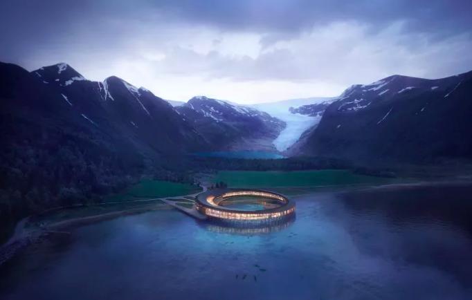 Отель будущего Svart