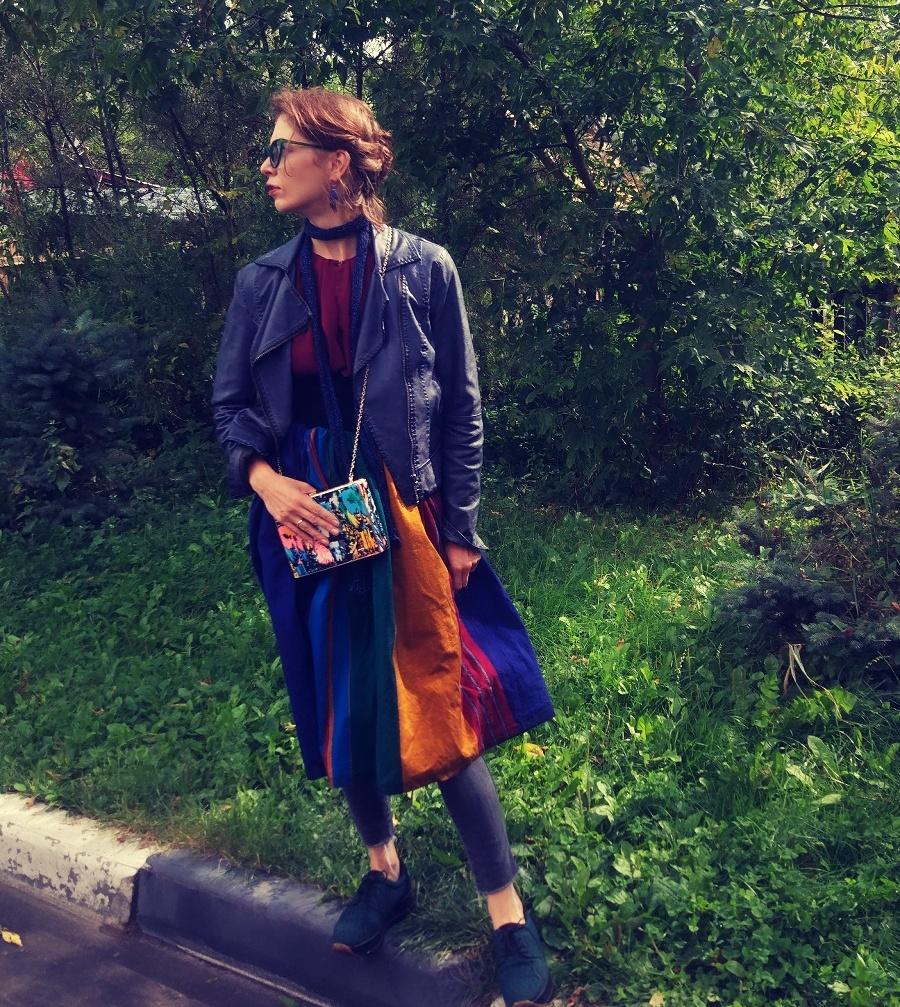 Модный лук. Яркий образ