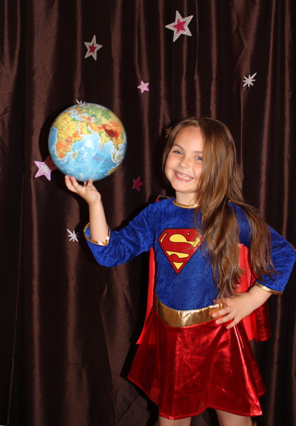 Наша любимая супердочка. Мой супергерой