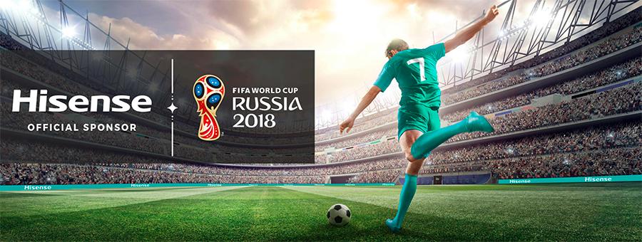 Hisense спонсор Чемпионата мира по футболу FIFA 2018 в России