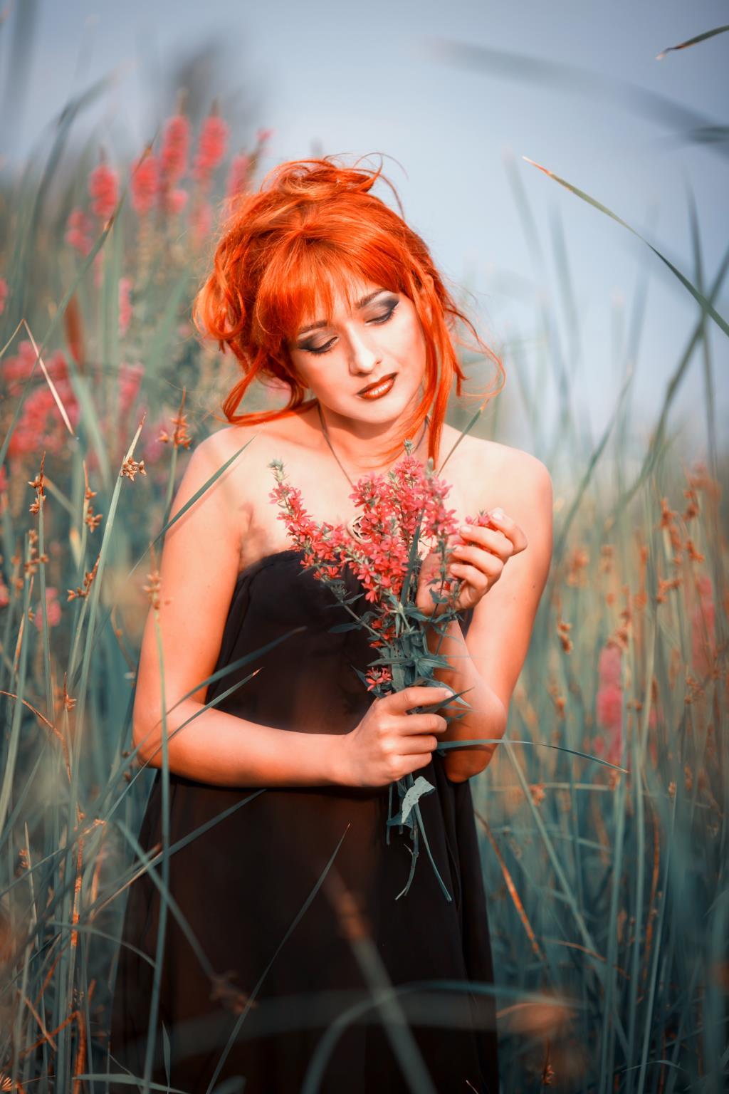 Рыжая Весна. Яркий образ