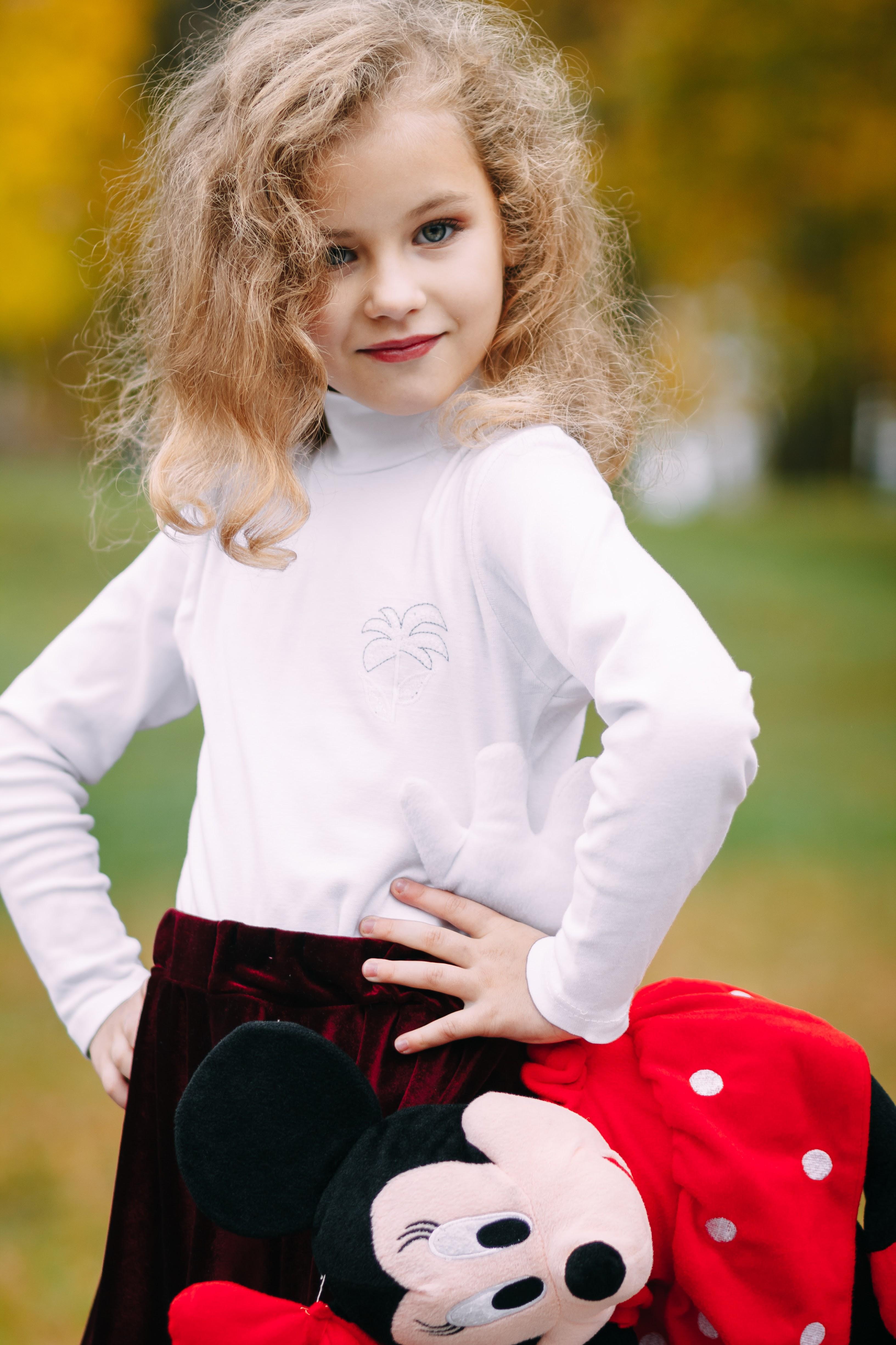Девочка осень. Яркий образ