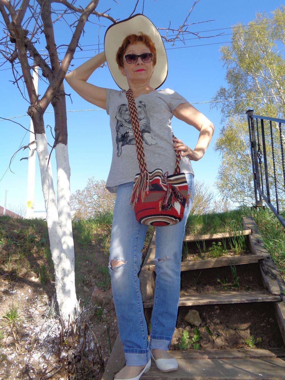 Колумбийская 'мочила' - подарок зятя.. Все свое ношу с собой!