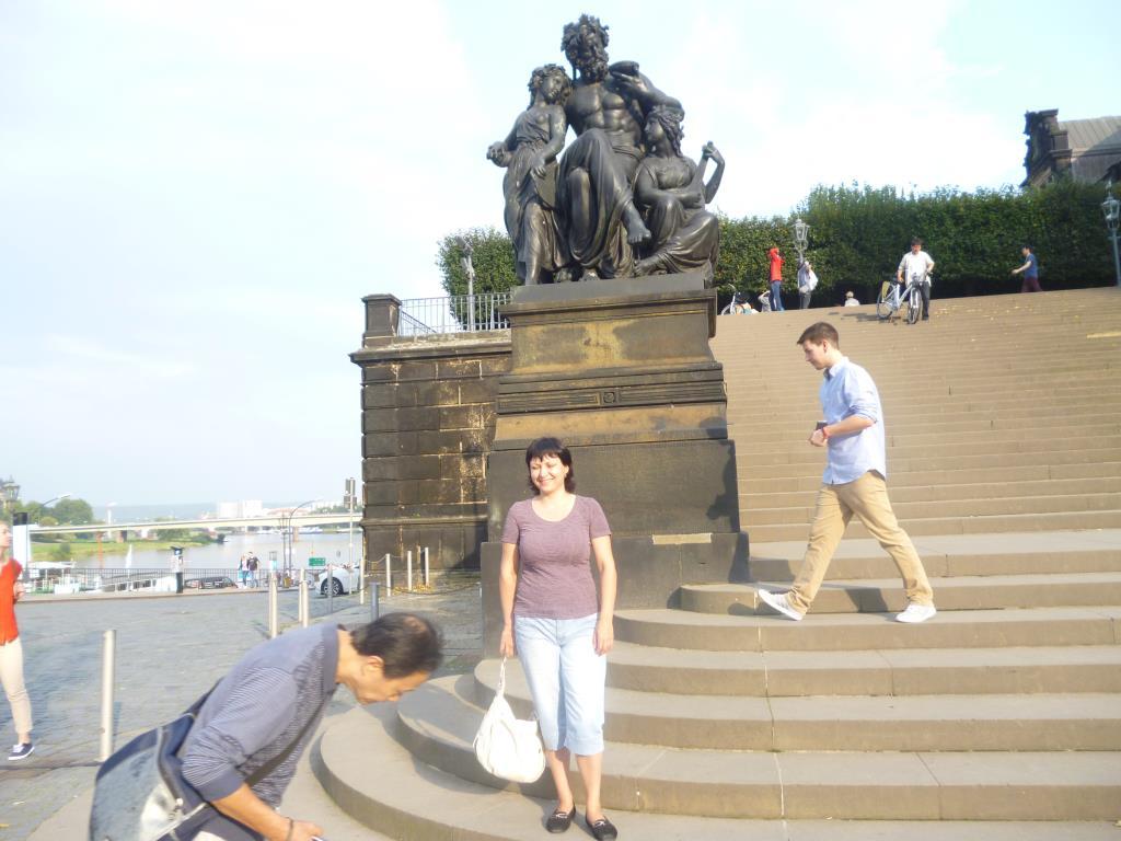 Прогулка по Дрезденену с сумкой. Все свое ношу с собой!