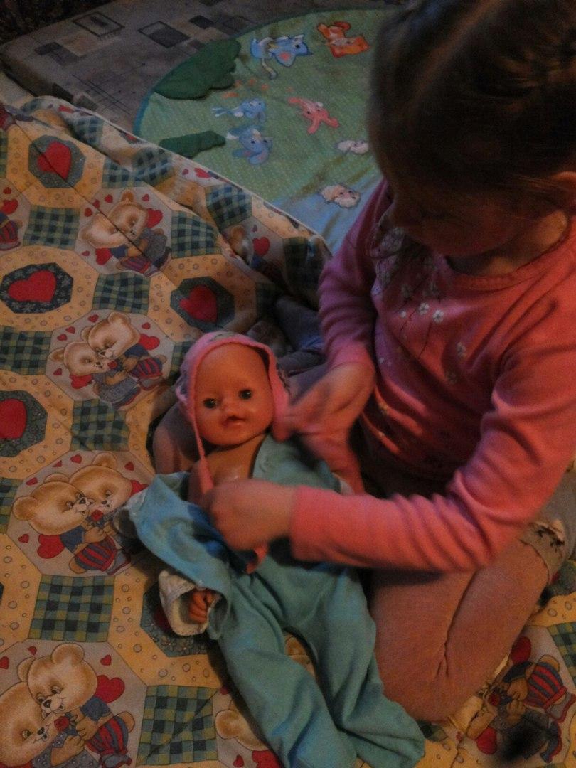 наша любимая кукла. Веселая игра