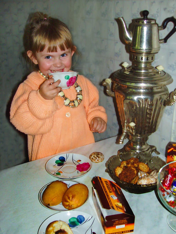 Чаепитие в Мытищах)). За чашкой чая