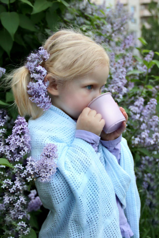 Сиреневые мечты за чашкой ароматного чая!. За чашкой чая